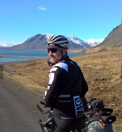 Gareth B in Iceland (photo: Luke Joy-Smith)