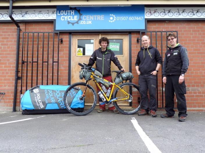 Photo from Louth Cycle centre who have built the bike