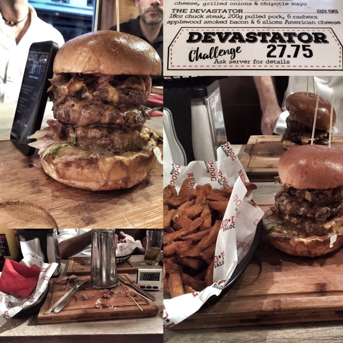 The Devastator challenge was no match for Darren's post TCR metabolism